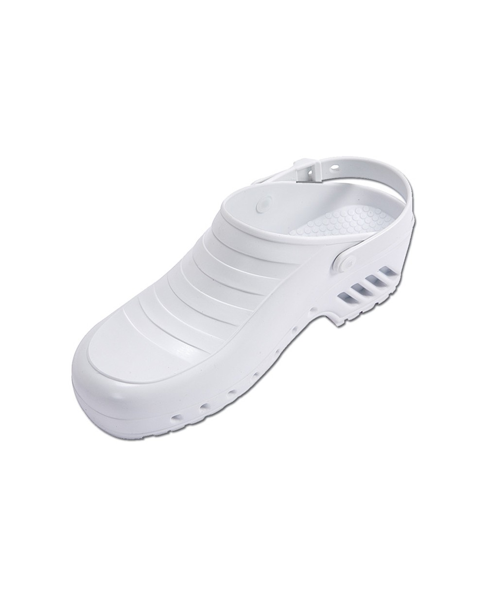 rivenditore di vendita e8850 ada0a Zoccolo Infermiere Bianco Mis. 37 con Cinturino