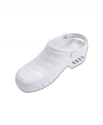 Zoccolo Infermiere Bianco Mis. 38 con Cinturino