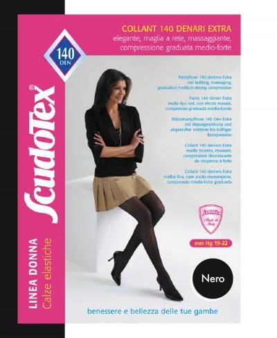 Collant Scudotex 140 Denari Nero Mis. 6