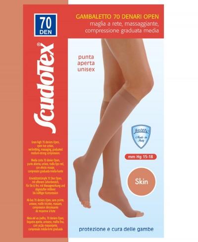 Gambaletto Scudotex Punta Aperta 70 Denari Skin Mis. 6