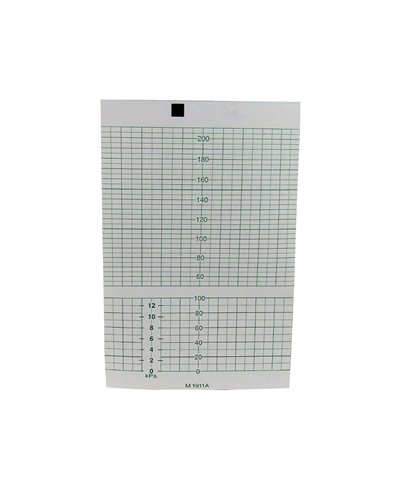Carta Termica per Cardiotocografo Hp e Philips M1911A - 151 mm x 100 mm x 150 fogli