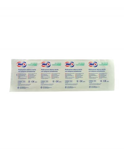 Medicazione Adesiva in Tnt Farmapore Cm 10x35 - Confezione 50 Pezzi