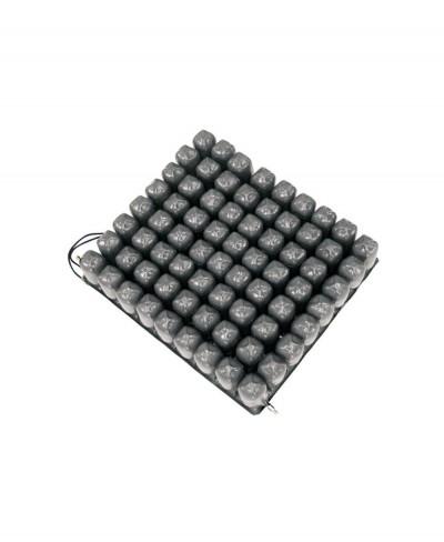 Cuscino Antidecubito a Bolle D'aria in PVC a 2 Valvole - 45 cm x 40 cm x 10 cm