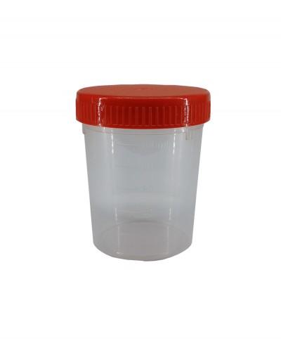 Contenitore Urine Sterile con Tappo a Vite - 100 Ml