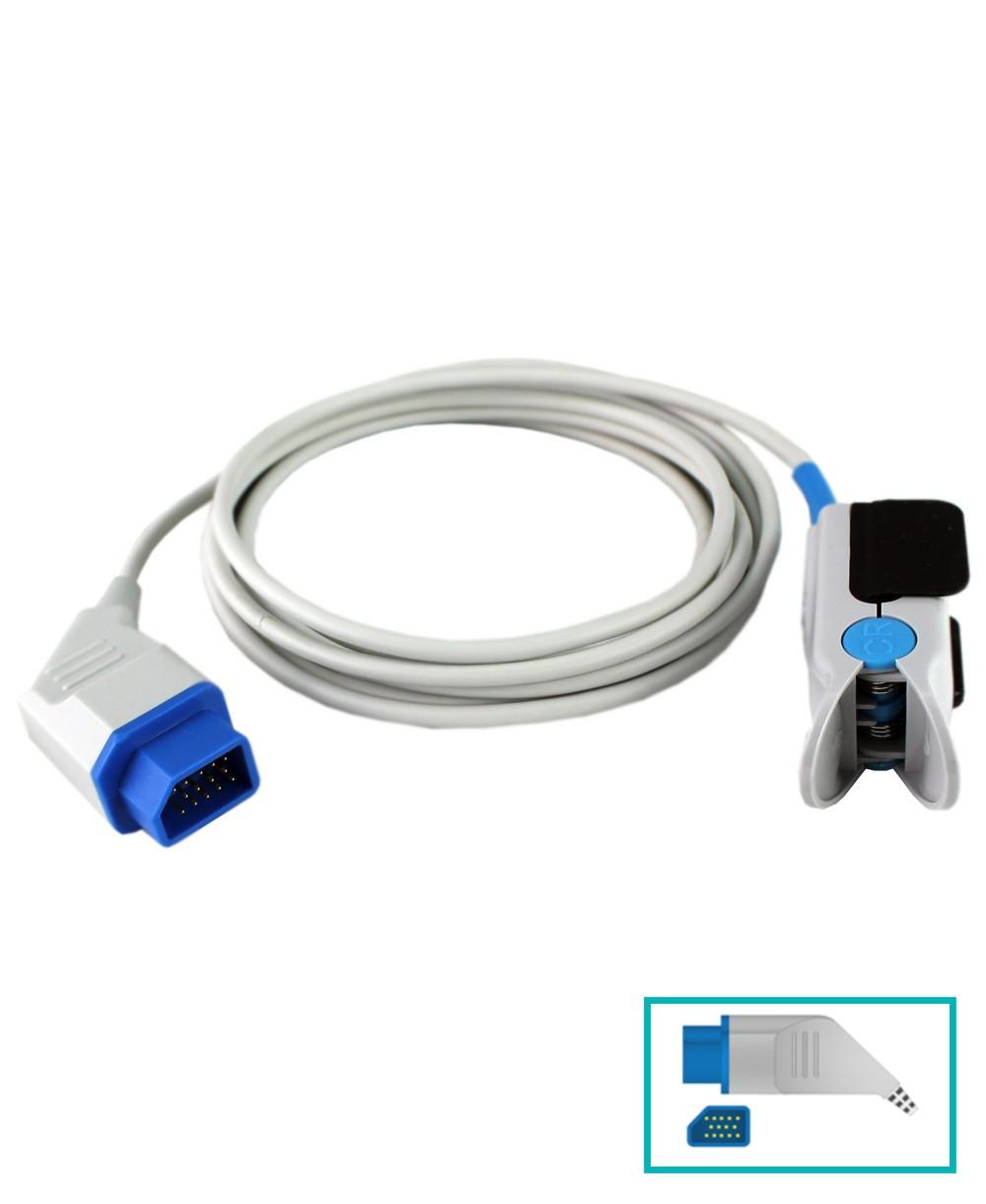 Sensore Spo2 Adulti Compatibile Nihon Kohden