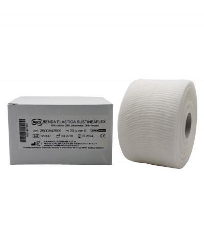Benda Elastica Coesiva SustineaFlex 6 Cm X 20 Metri