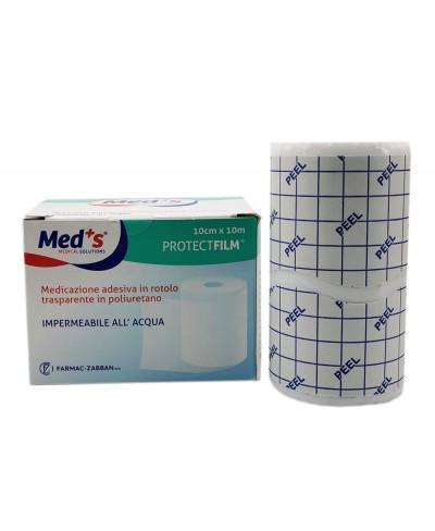Protect Film Pellicola Adesiva Impermeabile e Trasparente per Medicazioni in Rotolo da 10 metri x 10 cm