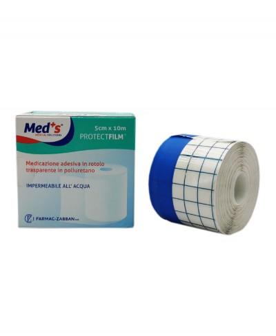Protect Film Pellicola Adesiva Impermeabile e Trasparente per Medicazioni in Rotolo da 10 metri x 5 cm