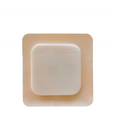 Medicazione Avanzata Sterile Antidecubito in Schiuma di Poliuretano Adesiva Farmactive Schiuma PU 10x10 Cm - 1 Pezzo