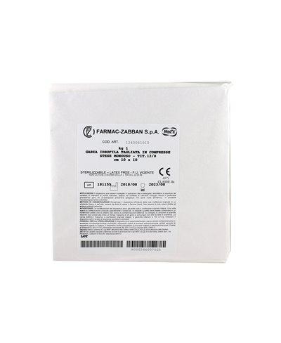 Garza Idrofila Tagliata in Compresse 10x10 Cm Confezione 1 Kg