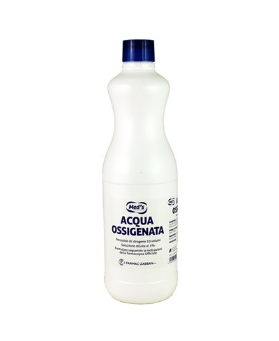 Acqua Ossigenata 3% 10 Volumi 1000 ml