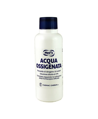 Acqua Ossigenata 3% 10 Volumi 250 Ml