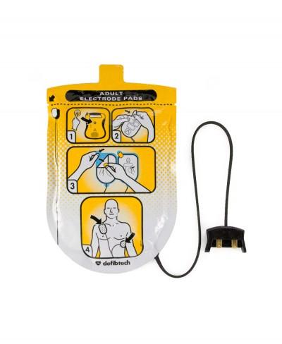 Elettrodi Adulti per Defibrillatore Defibtech Lifeline