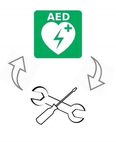 Manutenzione Ordinaria e Prove di Funzionalità per Defibrillatore AED