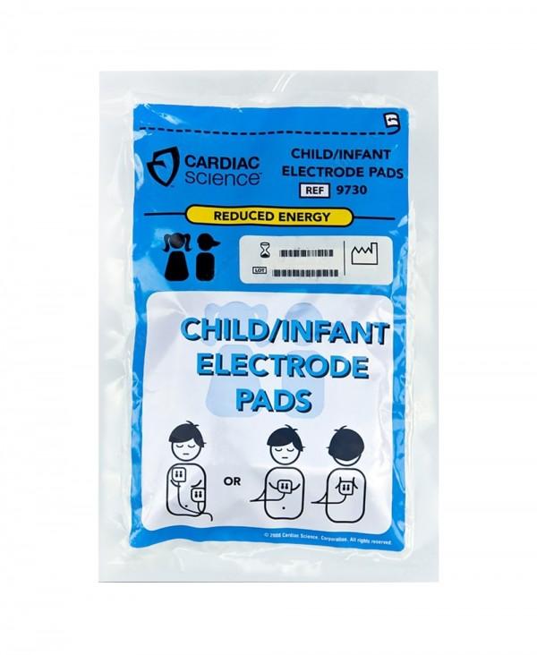 Elettrodi Pediatrici per Defibrillatore Cardiac Science Powerheart G3 Tipo 9730