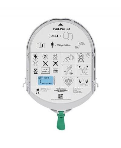Kit Elettrodi e Batteria per Defibrillatore Samaritan 350P e Samaritan 500P
