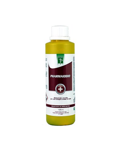 Pharmaiodio Antisettico a Base di Pvp Iodio Al 10% - 125 Ml