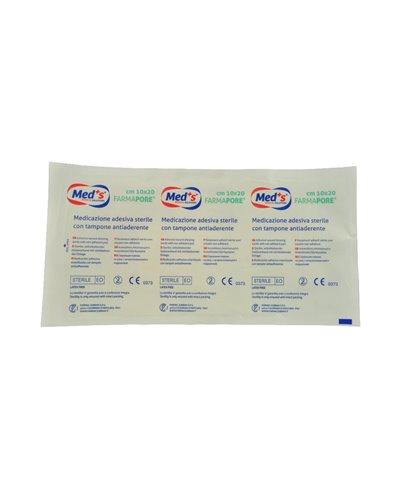 Medicazione Adesiva in Tnt Farmapore Cm 10x20