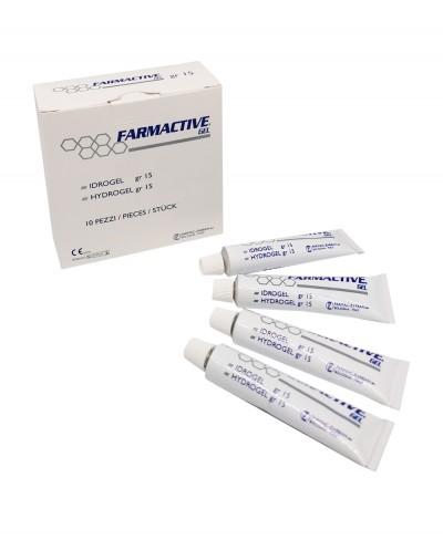 Idrogel Farmactive Gel Tubetto Sterile da 15 gr - Confezione 10 pezzi