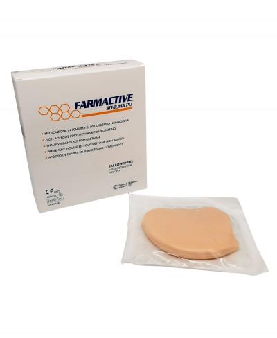 Medicazione Avanzata Sterile Antidecubito per Tallone in Schiuma di Poliuretano Non Adesiva Farmactive Schiuma PU - Confezione