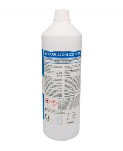 Disinfettante per Ferri Chirurgici BIOFARM FERRI ALCOLICO 1000 Ml