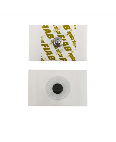 Elettrodo ECG Adesivo Monouso 28 x 44 mm per Elettrocardiogramma a Riposo - Confezione 100 pezzi