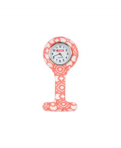 Orologio da Infermiere Rosa Quadrante Rotondo
