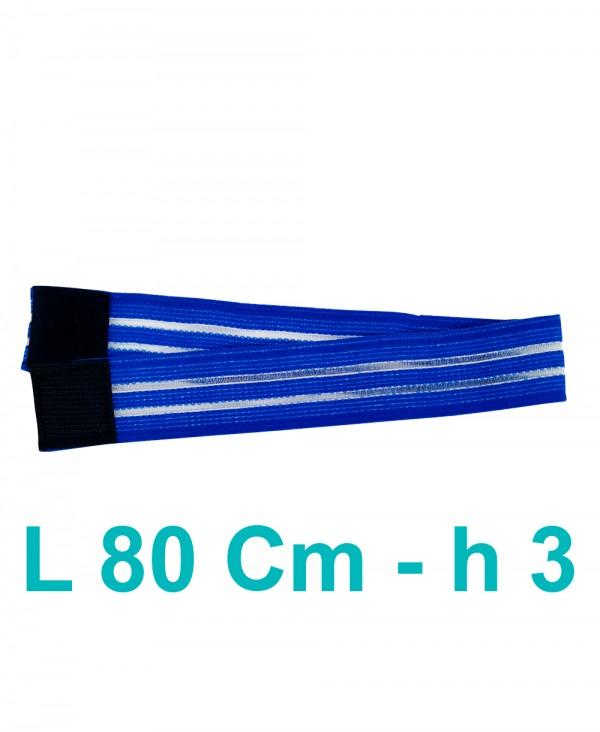 Fascia Elasticizzata Ferma Elettrodi di Elettroterapia e Magnetoterapia Cm 3 x 80