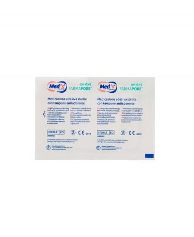 Medicazione Adesiva in Tnt Farmapore Cm 6x9