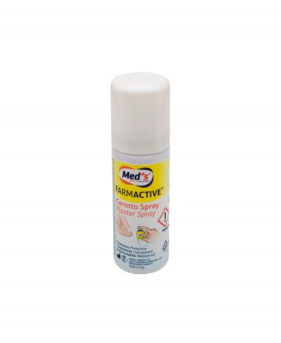 Farmactive Cerotto Spray 40 ml, Protettivo, Trasparente e Impermeabile