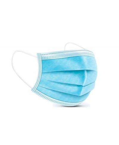 Mascherina Chirurgica Tre Strati con Elastici per Adulti Classe II - Confezione 50 Pezzi Fiab