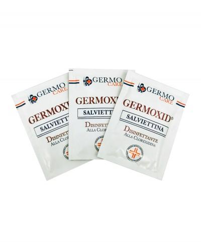 Germoxid Salviettina Disinfettante alla Clorexidina per Mani - Confezione 20 pezzi