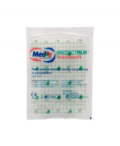 ProtectFilm Pellicola Adesiva Sterile Impermeabile e Trasparente per Medicazioni cm 15x20 - 1 pezzo