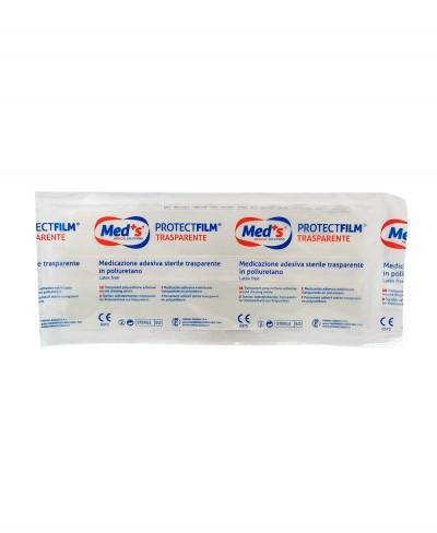 ProtectFilm Pellicola Adesiva Sterile Impermeabile e Trasparente per Medicazioni cm 10x25 - 1 pezzo