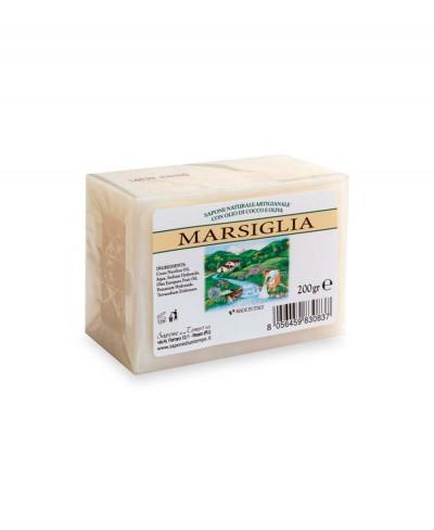Vero Sapone di Marsiglia Naturale Artigianale con Olio di Oliva e di Cocco 200gr