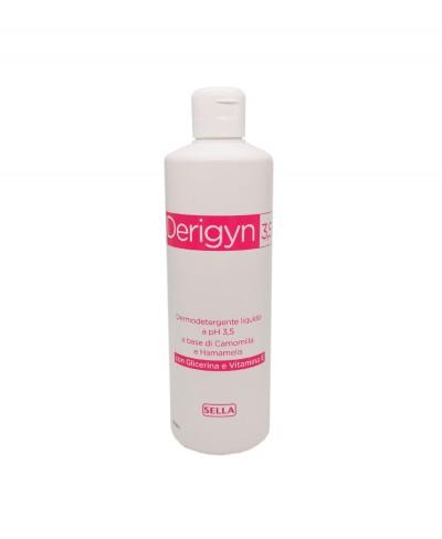 Derigyn 3.5 Con Camomilla e Hamamelis Detergente Liquido a ph 3.5 - 500 ml