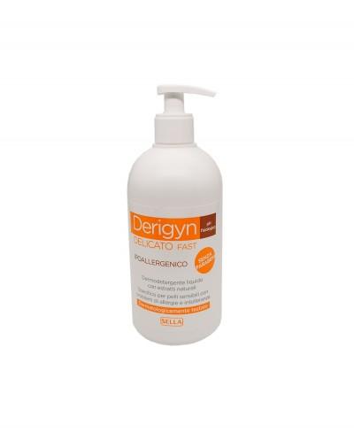 Derigyn Detergente Corpo Delicato Ipoallergenico pH Fisiologico - 500 ml