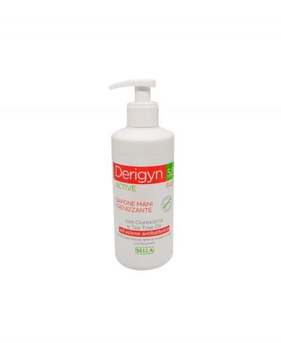 Derigyn 5.5 Detergente Antibatterico Mani con Clorexidina e Tea Tree Oil - 300 ml