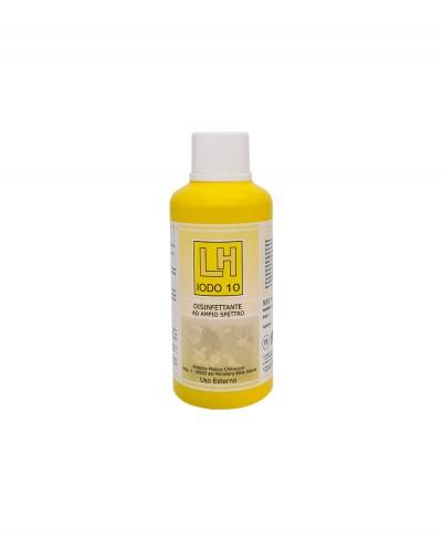 LH Iodo 10 Antisettico a Base di Pvp Iodio al 10% - 500 Ml