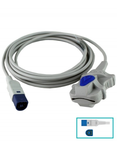 Sensore Spo2 Adulti in Silicone Compatibile M1191A Philips Core-ray