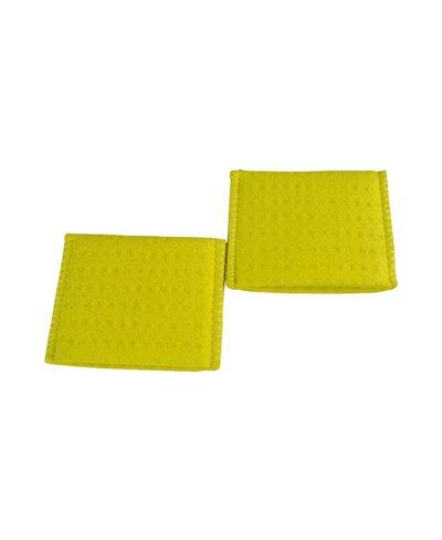 Spugna Porta Elettrodo in Daino Sintetico per elettrodo 50 x 50 mm Confezione 2 Pezzi