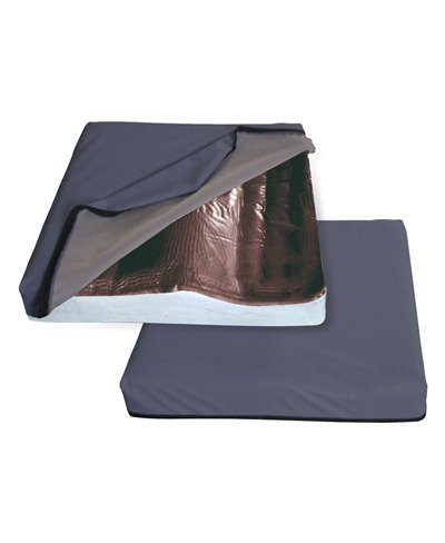Cuscino Antidecubito con Base in Memory Foam e Gel Fluido 40x40 Cm