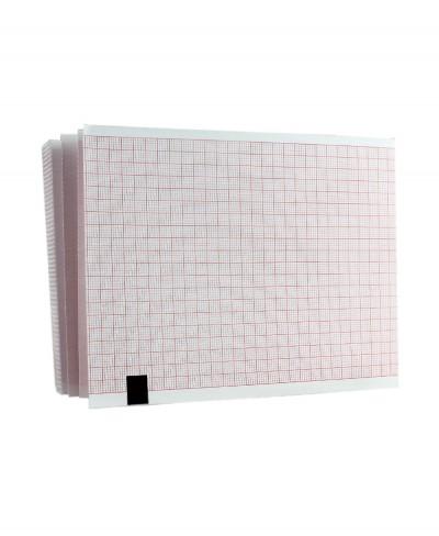 Carta Termica per Elettrocardiografo Edan Se-601 - 110mm x 140mm x142 fogli