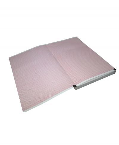 Carta Termica per Elettrocardiografo Edan Se-1201 - 210mm x 140mm x 144 fogli