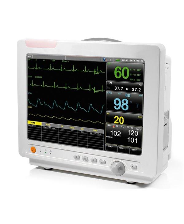 Monitor Multiparametrico Fazzini Pms8000d 6 Parametri - Ecg/Hr, Spo2, Nibp, Temp, PR