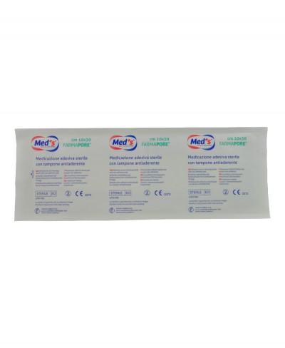 Medicazione Adesiva in Tnt Farmapore Cm 10x30