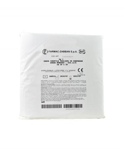 Garza Idrofila Tagliata in Compresse 20x20 Cm Confezione 1 Kg