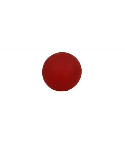 Pallina in Silicone per la Riabilitazione della Mano Colore Rosso Media Elasticità