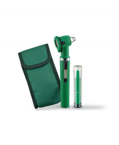 Otoscopio Xenon Gimalux Verde a Fibre Ottiche
