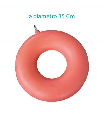 Ciambella Gonfiabile in Gomma Diametro 35 Cm Intermed